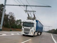 Дорога для электрогрузовиков