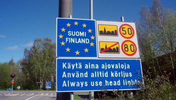 Финляндия: чтобы сэкономить, границу на ночь будут закрывать?