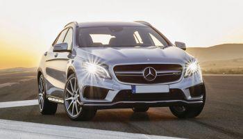 Mercedes-Benz GLA 45 AMG – внедорожник для стильных и динамичных