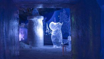 Финляндия: муми-тролли получили ледяной парк