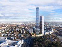 Швеция: в Стокгольме построят самые высокие в Северной Европе небоскребы