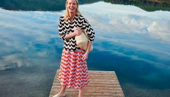 Финляндия: Marimekko запустила в России очередную совместную коллекцию с Uniqlo