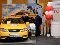 Тест-драйв на III Международном Евразийском форуме «Такси»