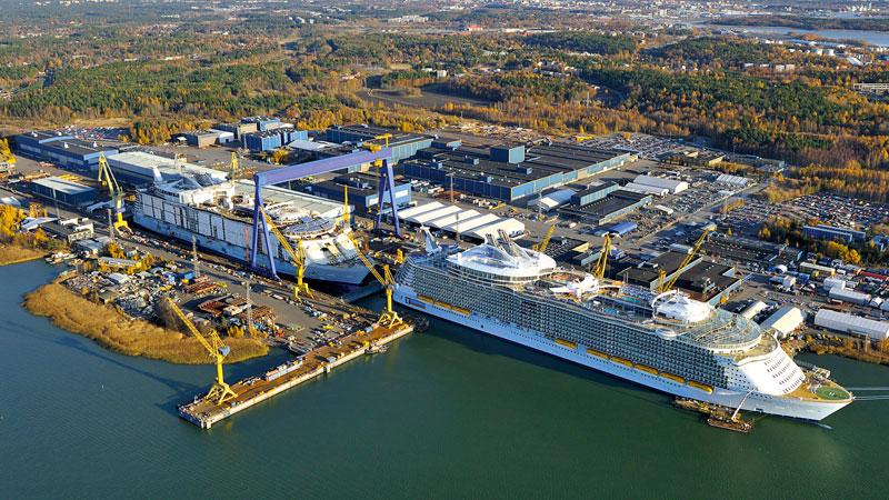 Meyer Werft полностью выкупит судоверфь в Турку