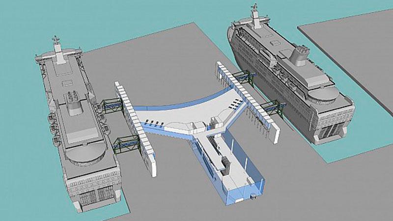 Новый пассажирский терминал в Хельсинки построят раньше