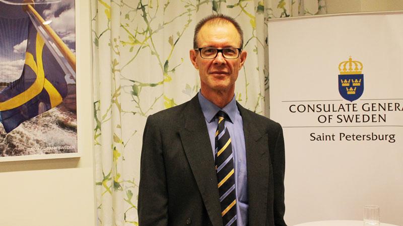 Генеральный консул Швеции Эрик Хаммаршельд