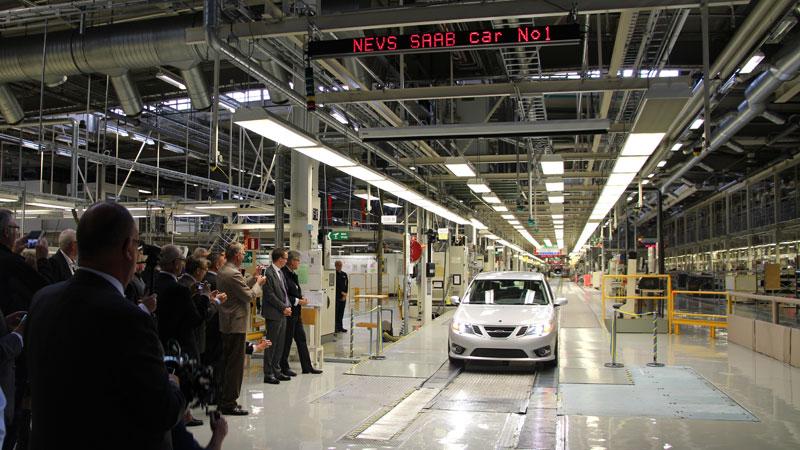 Saab обрёл новых владельцев