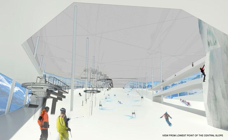 Норвегия построит самый большой крытый горнолыжный центр