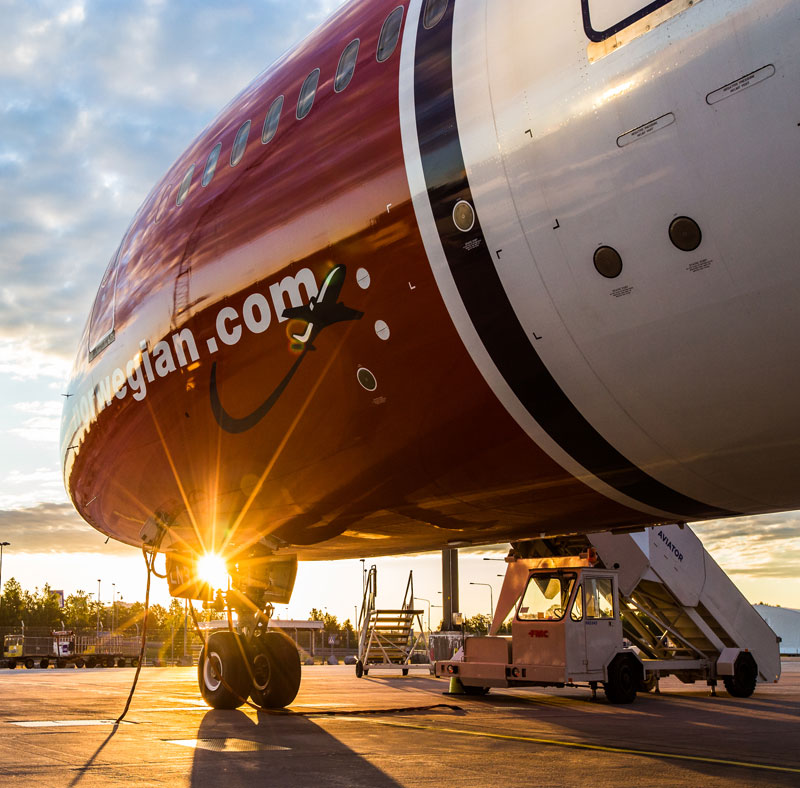Норвежская Norwegian уходит из Санкт-Петербурга