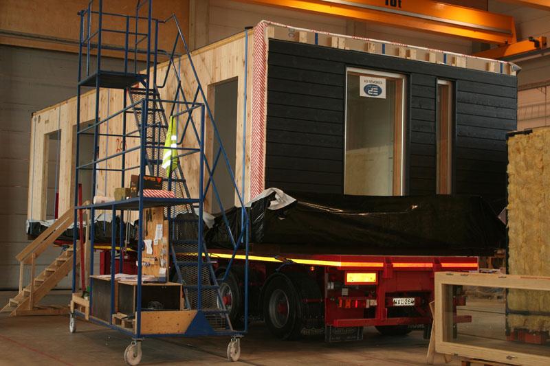 Деревянные дома из модулей – решение проблемы нехватки жилья