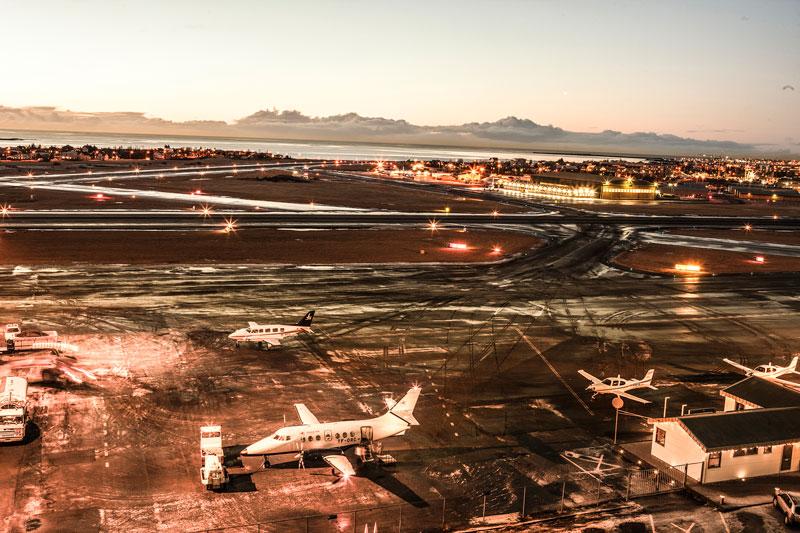 Исландский аэропорт Кефлавик ставит новый рекорд