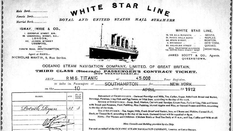 «Купи» билет на «Титаник» и попробуй выжить!