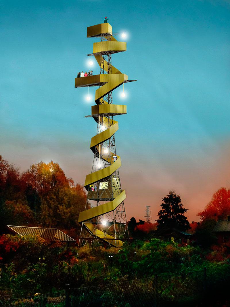 Швеция: башни линий электропередач откроют для посетителей?