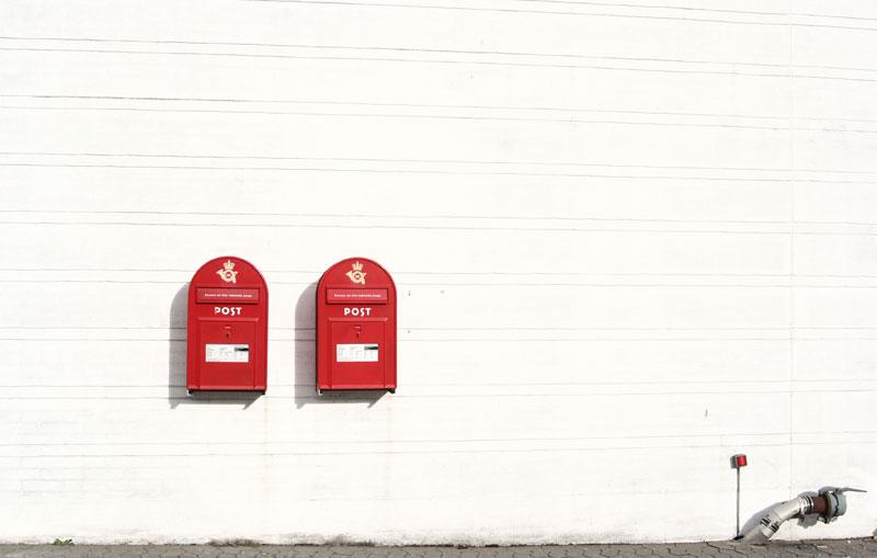Дания: почтальоны – под сокращение, доставка писем – один раз в неделю