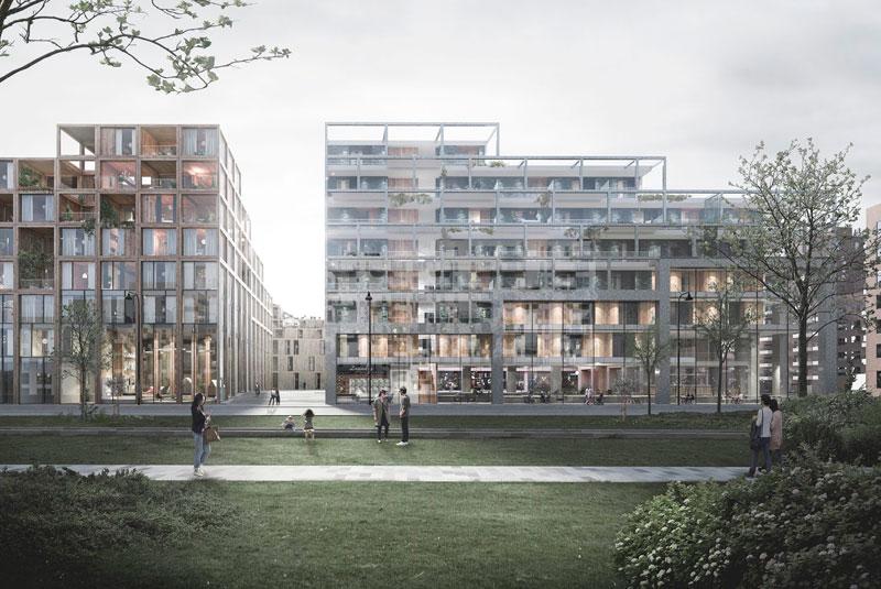 Дания: в пригороде Копенгагена построят жилой комплекс из строительного вторсырья