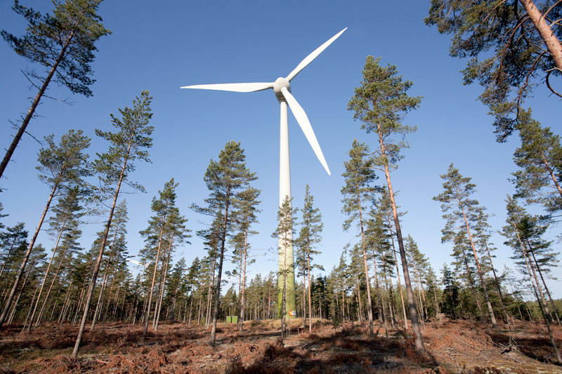 Финляндия: финны помогают россиянам строить ветропарк