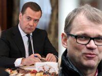 Премьер-министры России и Финляндии встретятся в Санкт-Петербурге