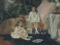 Санкт-Петербург -Финляндия: считавшийся утраченным шедевр финского мастера представлен любителям искусства