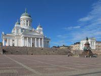 Финляндия: в Хельсинки на Сенатской площади могут появиться рестораны под открытым небом