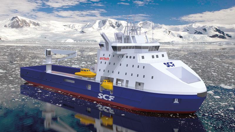 Ледокол для Совкомфлота строят Хельсинки и Выборг