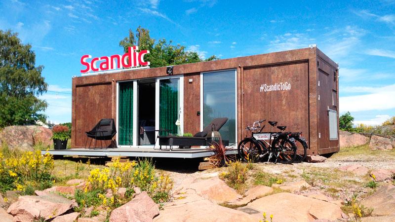 Передвижной отель Scandic выходит на новые маршруты