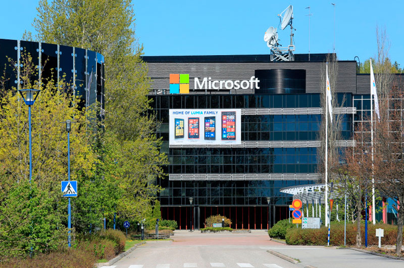 Microsoft сокращает в Финляндии более 2 тысячи сотрудников