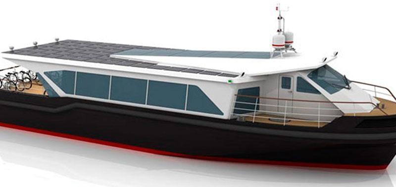 Морской трамвай на солнечных батареях