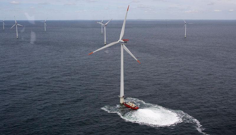 Новый ветропарк снизит стоимость электричества в Дании