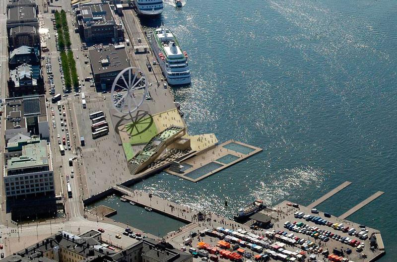 Морской купальне в Хельсинки дали «зеленый свет»