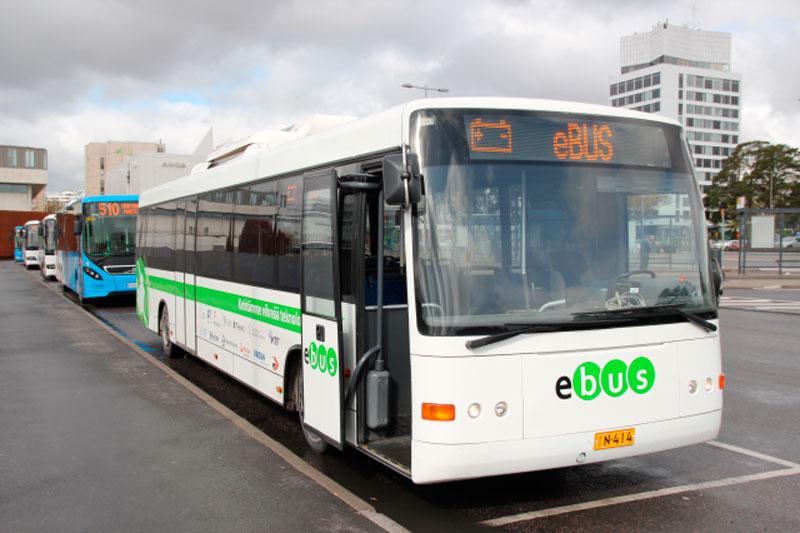 Первые финские электробусы производятся в регионе Лахти