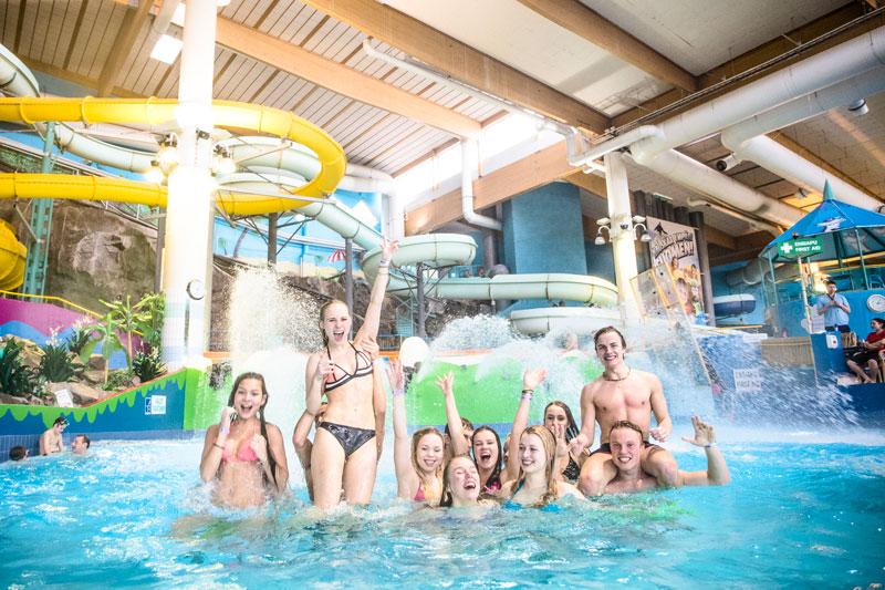 Новогодний подарок россиянам от финского аквапарка Serena