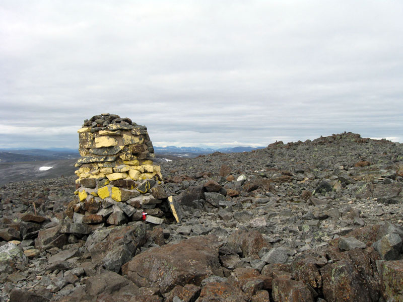 Норвежская вершина сопки в подарок