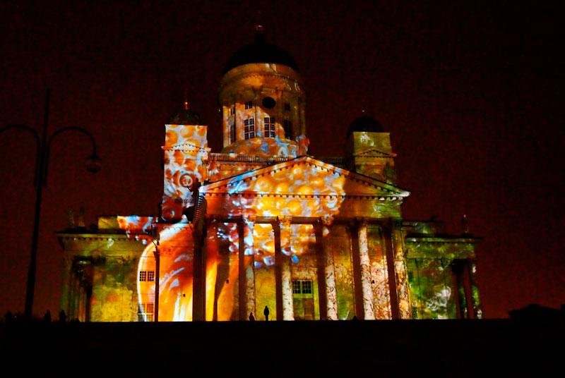 Фестиваль света Lux Helsinki