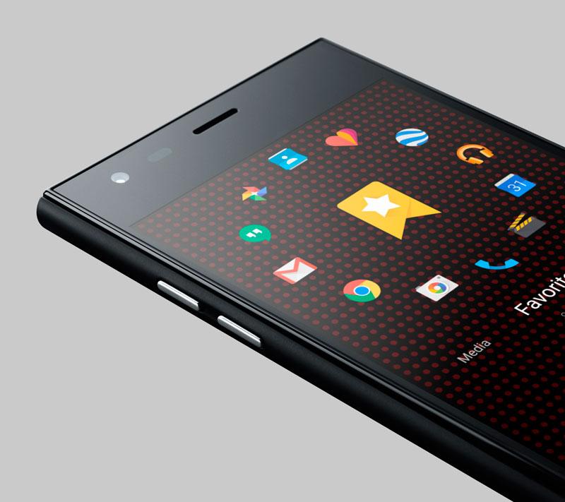 Новый тип смартфона – навигация по кругу
