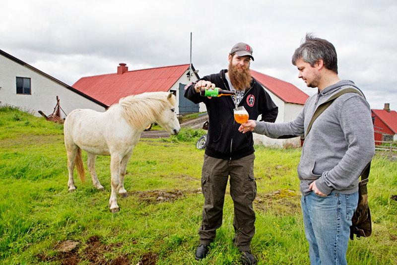 Самое «чокнутое» пиво в мире – исландское Fenrir Nr 26 (VIDEO)