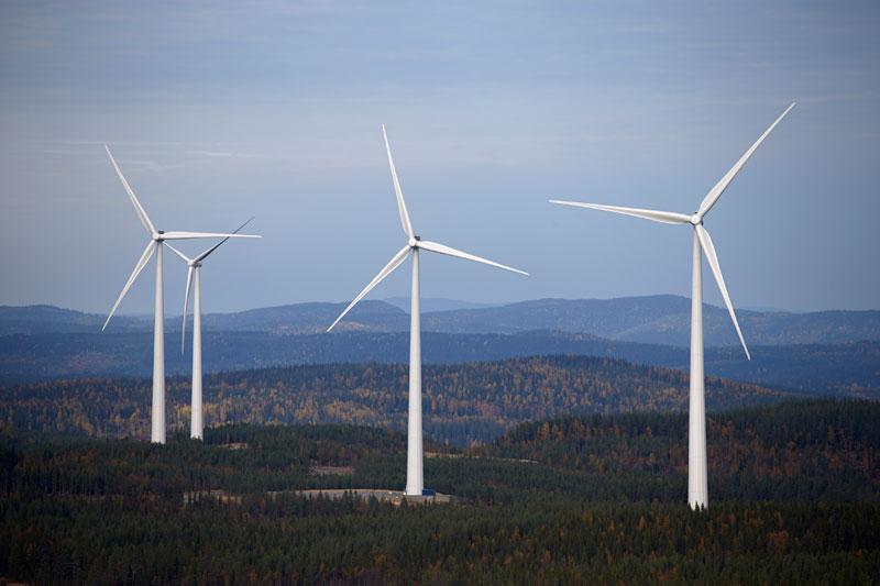 Норвегия строит крупнейший в Европе ветропарк