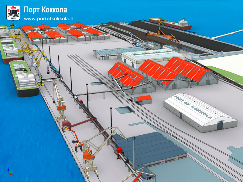 Развитие порта – процесс непрерывный