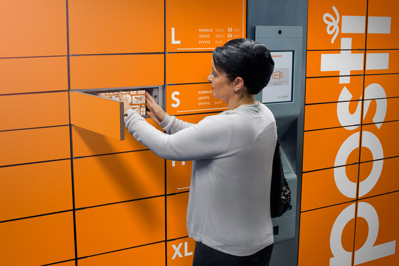 Посылочный ящик для клиентов интернет-барахолок