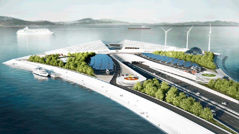 Датчане построят гигантский мост в Китае (VIDEO)