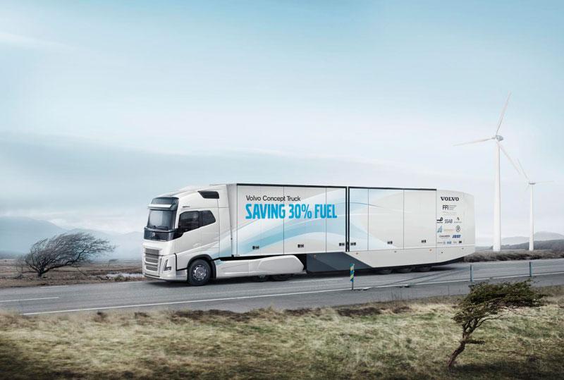 Швеция: грузовик с 30% экономией топлива