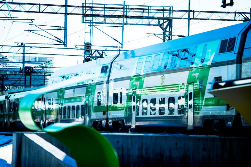 Финляндия: перед Рождеством на родину Санта Клауса отправили «супер-поезд»